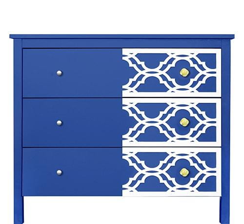 O'verlays: Decorative Furniture Panels - DIY IKEA Furniture makeover