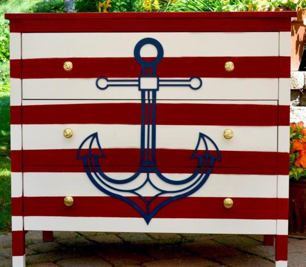 novelty,anchor,dresser