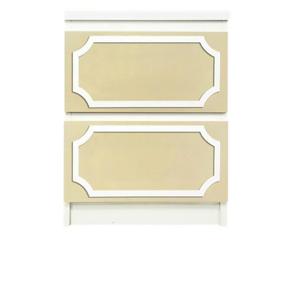 "overlays-anne-1/2""-reveal-kit-ikea-malm-2-drawer-dresser"