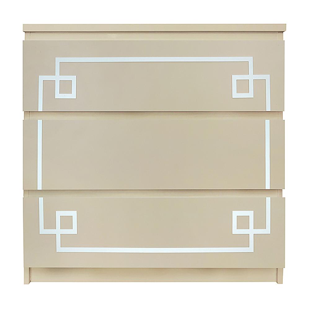 Incroyable Overlays Pippa Kit Ikea Malm 3 Drawer