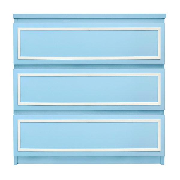 O'verlays Rex Kit - Ikea - Malm - 3 drawer – dresser