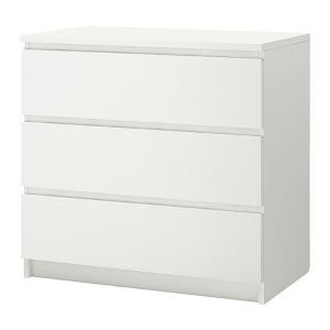 SHOP Kits for Malm 3 drawer