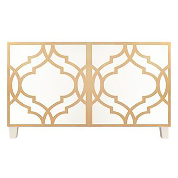 O'verlays Khloe Kit Ikea Besta 2 door console unit