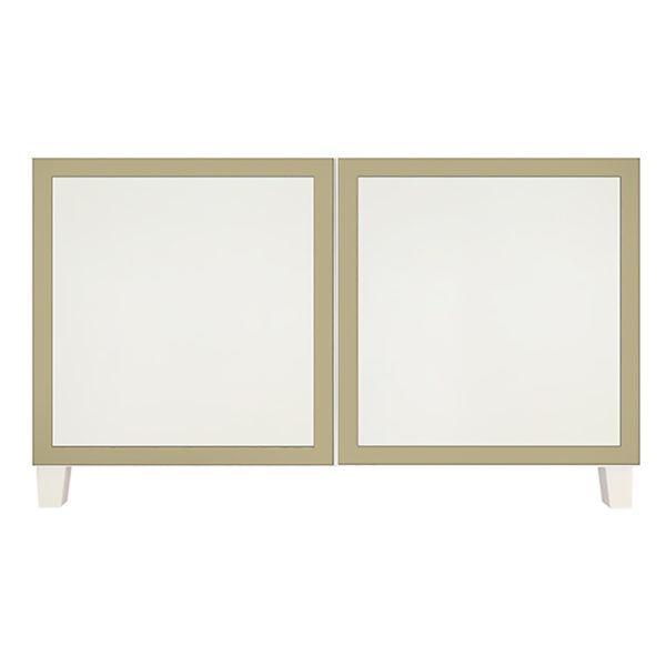 BC2D-RX2325T-2 ,overlays Rex Thick 1.5 inch lines Kit Ikea Besta 2 door console unit