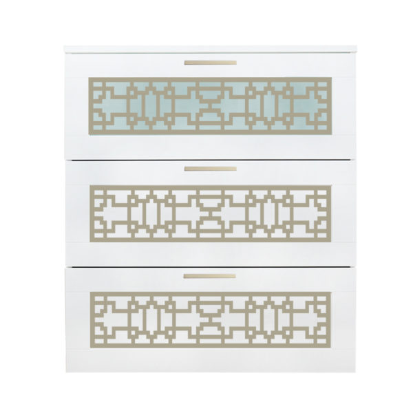 O'verlays Caci Kit for Ikea Brimnes 3 Drawer Dresser