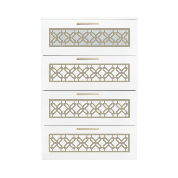 O'verlays Gigi Kit for Ikea Brimnes 4 Drawer Dresser