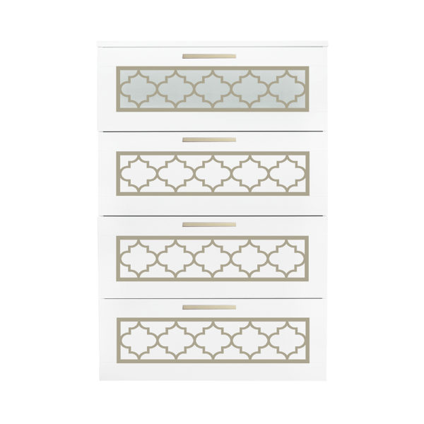 O'verlays Jasmine Kit for Ikea Brimnes 4 Drawer Dresser