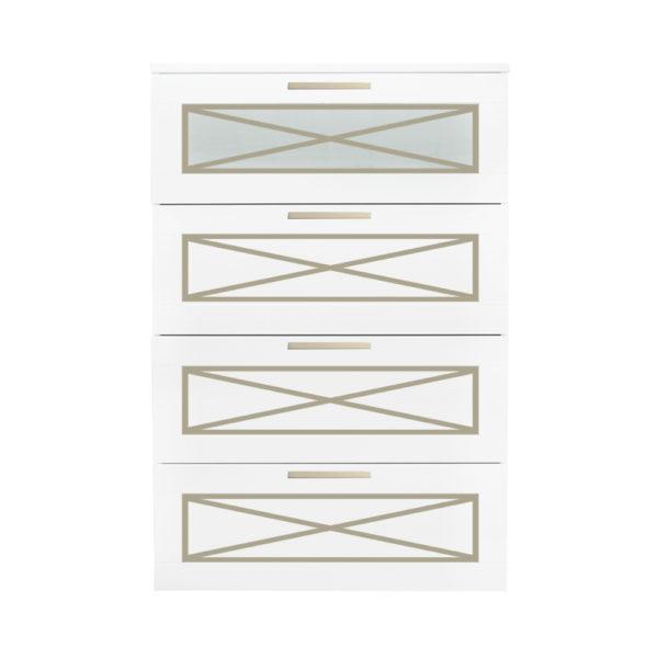 O'verlays Xandra Kit for Ikea Brimnes 4 Drawer Dresser