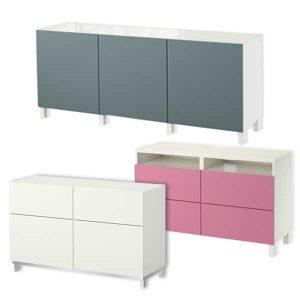 O'verlays Kits for Ikea Besta Units