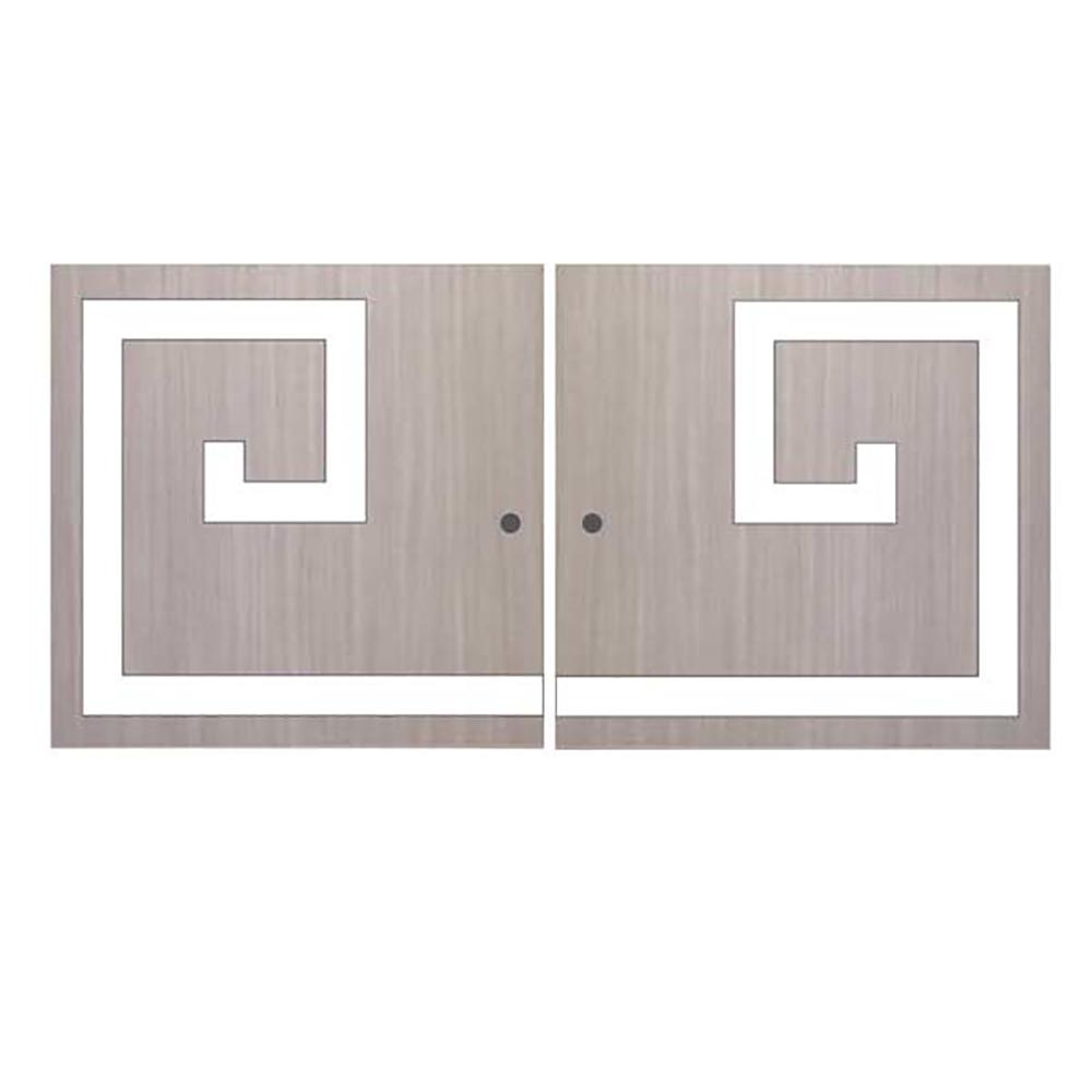 Verlays Greek Key Double Kit For Ikea Kallax Or Expedit Door # Notice Expedit