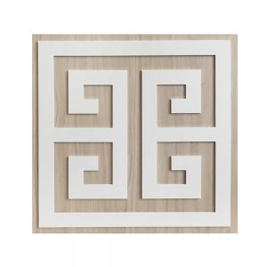 "O'verlays Greek Key 12"" Kit for Ikea Kallax or Expedit Door"