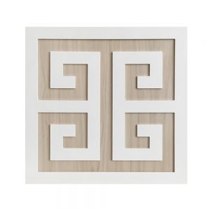 "O'verlays Greek Key 13"" Kit for Ikea Kallax or Expedit Door"