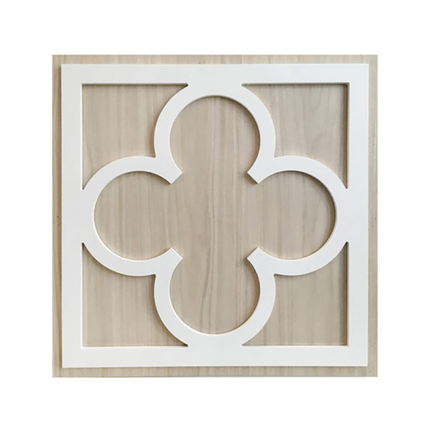 O'verlays Quatrefoil Kit for Ikea Kallax or Expedit Door