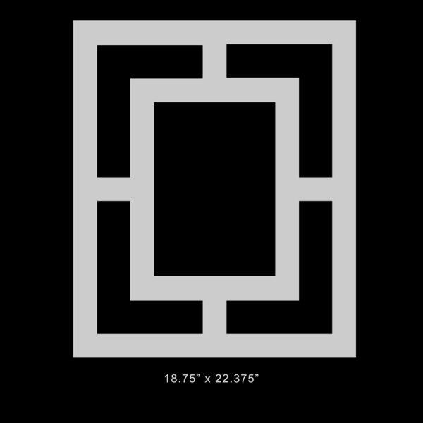 "O'verlays Harper Thick 18.75"" x 22.375"" panel"