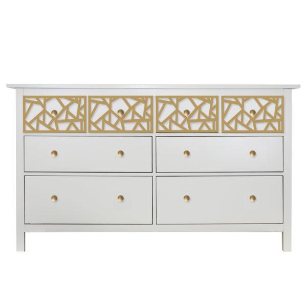 O'verlays Danika Kit for Ikea Hemnes 8 Drawer Dresser