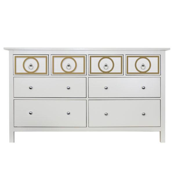 O'verlays Gracie Kit for Ikea hemnes 8 drawer dresser