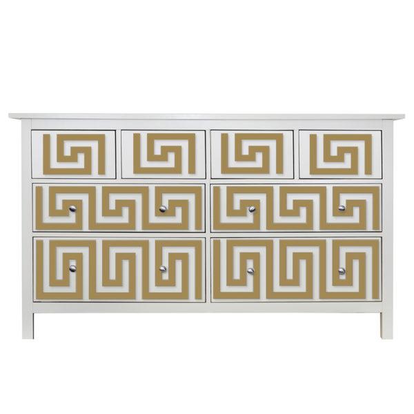 O'verlays Greek Key Kit for Ikea hemnes 8 drawer dresser