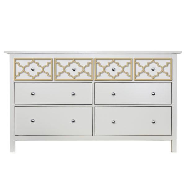 O'verlays Jasmine Kit for Ikea hemnes 8 drawer dresser