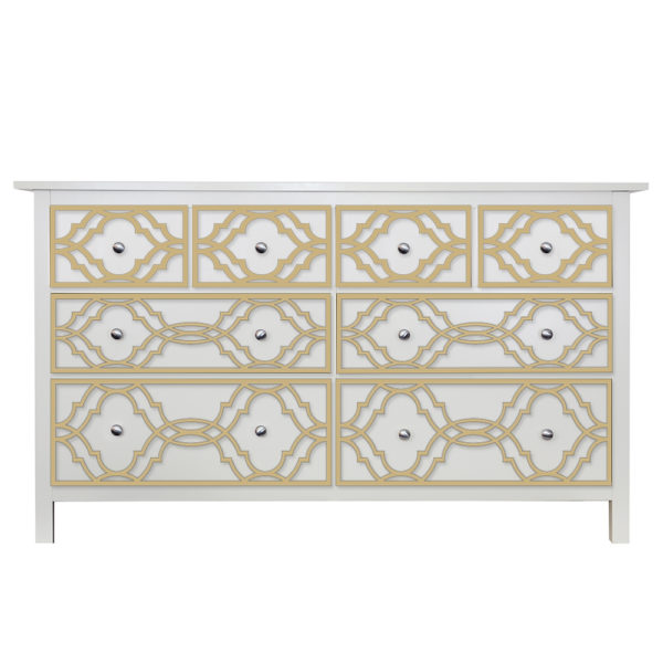 O'verlays Khloe Kit for Ikea hemnes 8 drawer dresser