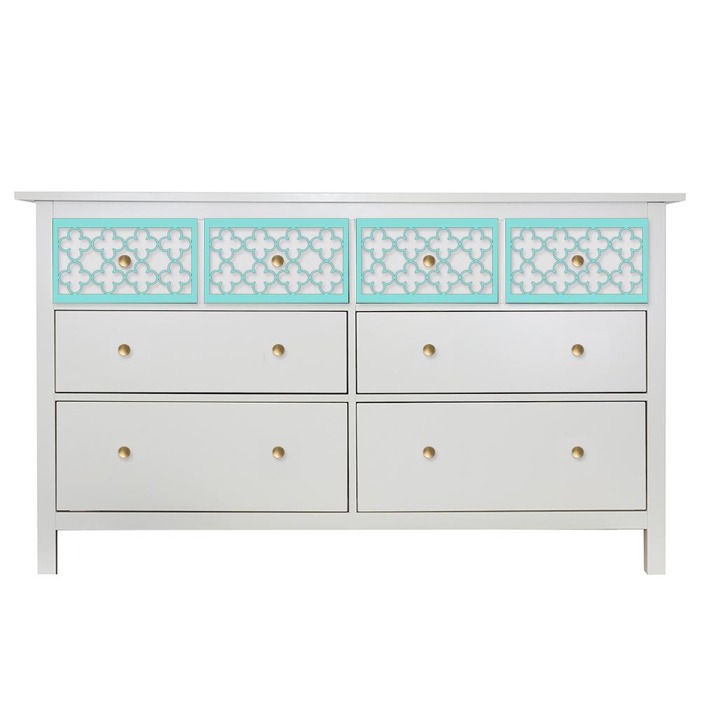 o'verlays quatrefoil kit ikea hemnes 8 drawer dresser top drawer panels