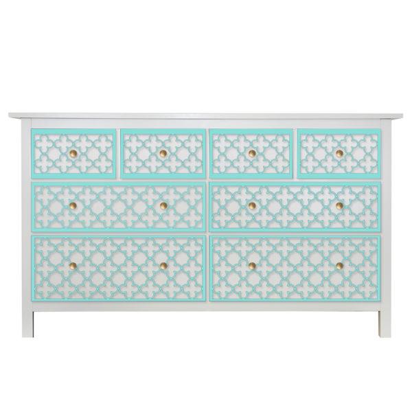 O'verlays Quatrefoil Kit for Ikea hemnes 8 drawer dresser