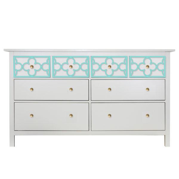 O'verlays Quatrefoil Single Ikea Hemnes 8 Drawer Dresser Top Drawers