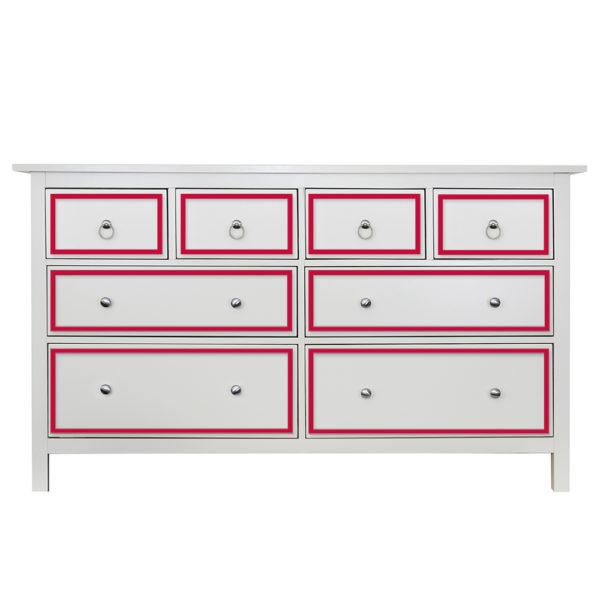 O'verlays Rex Kit for Ikea Hemnes 8 Drawer Dresser