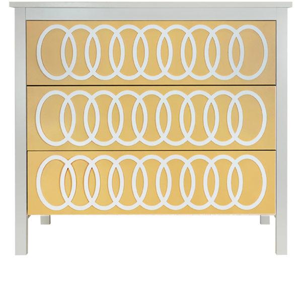 O'verlays O'livia Kit for Ikea Koppang 3 Drawer Chest