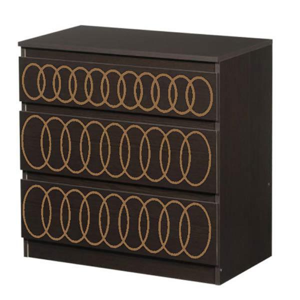 O'verlays O'livia Kit for Ikea Kullen 3 Drawer Chest