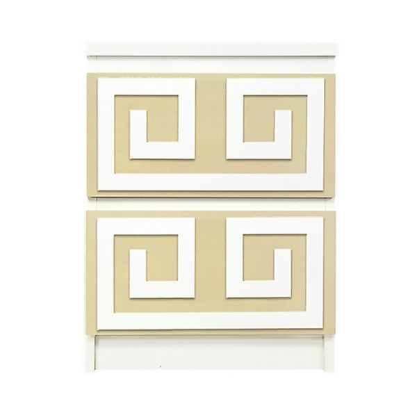 o'verlays Greek Key Double kit for ikea malm 2 drawer