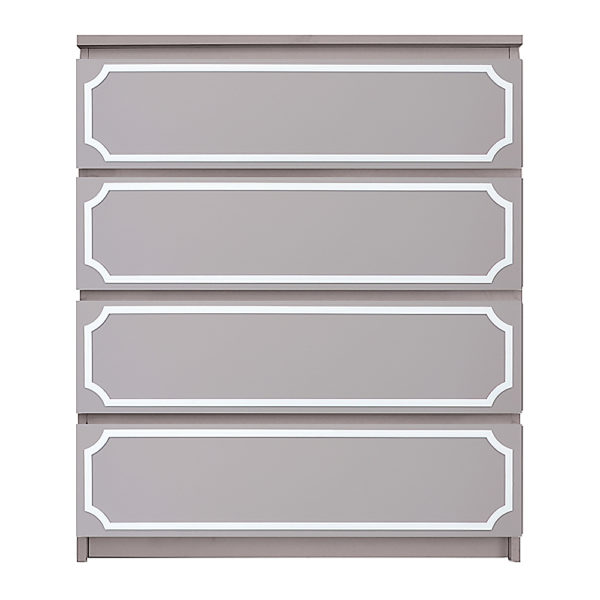overlays Anne Kit Ikea Malm 4 drawer