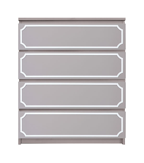 overlays Anne Kit Ikea Malm 4 drawer