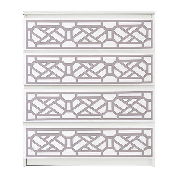 overlays Cheryle Kit Ikea Malm 4 drawer