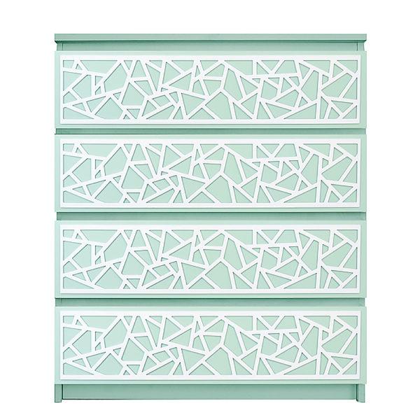 overlays Danika Kit Ikea Malm 4 drawer