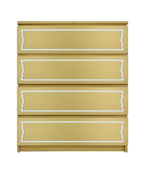 overlays Dee Dee 6 x 29 Kit Ikea Malm 4 drawer