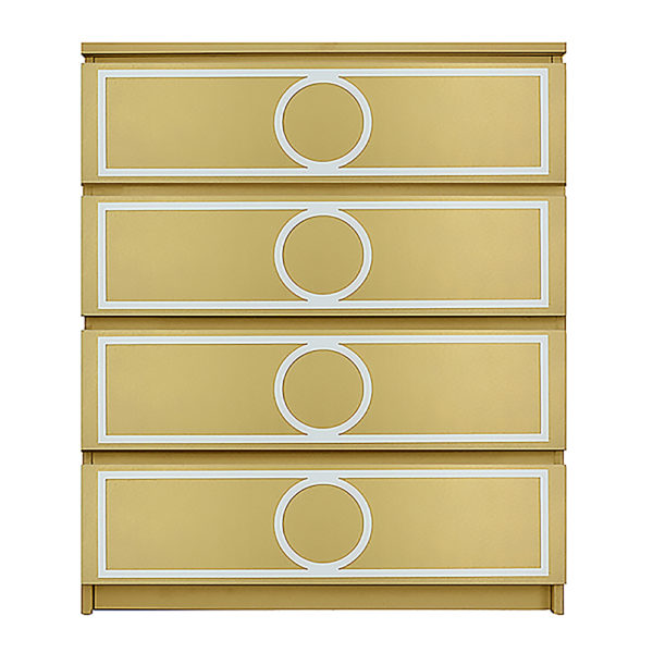overlays Gracie Kit Ikea Malm 4 drawer