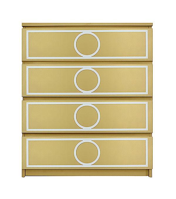 overlays Gracie Kit Ikea Malm 4 drawer