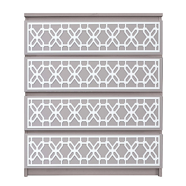 overlays Gigi Kit Ikea Malm 4 drawer