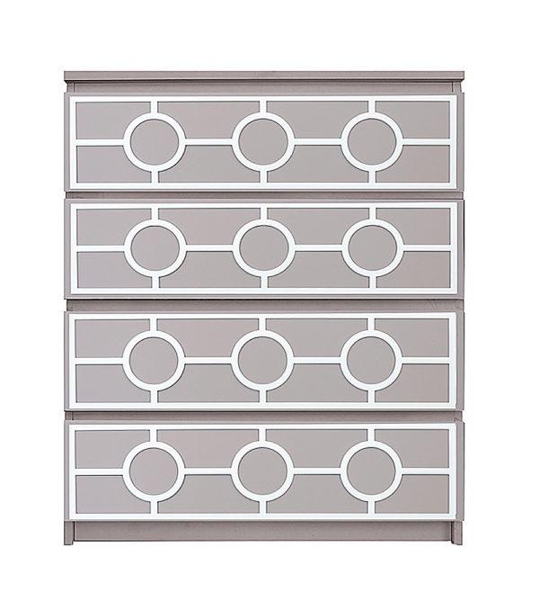 overlays Grace Kit Ikea Malm 4 drawer