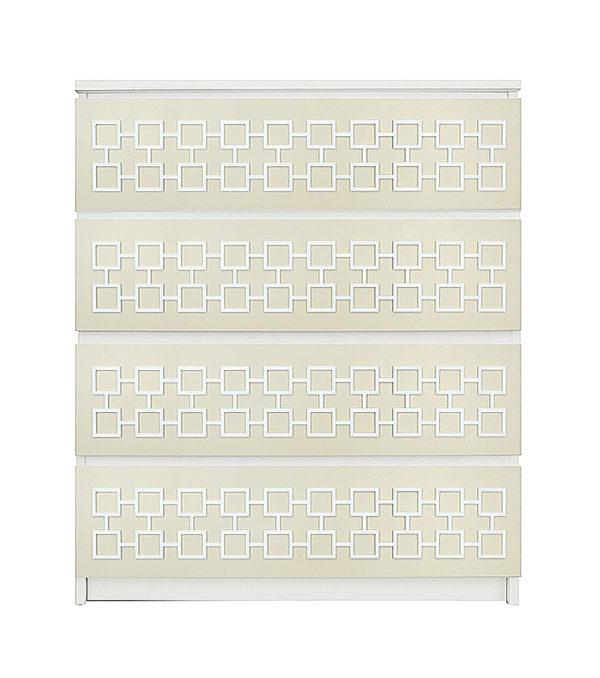 overlays Harper Kit Ikea Malm 4 drawer