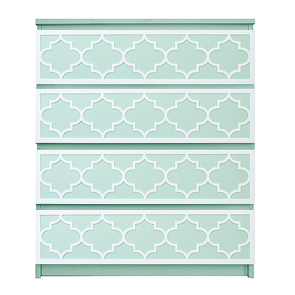 overlays Jasmine Kit Ikea Malm 4 drawer