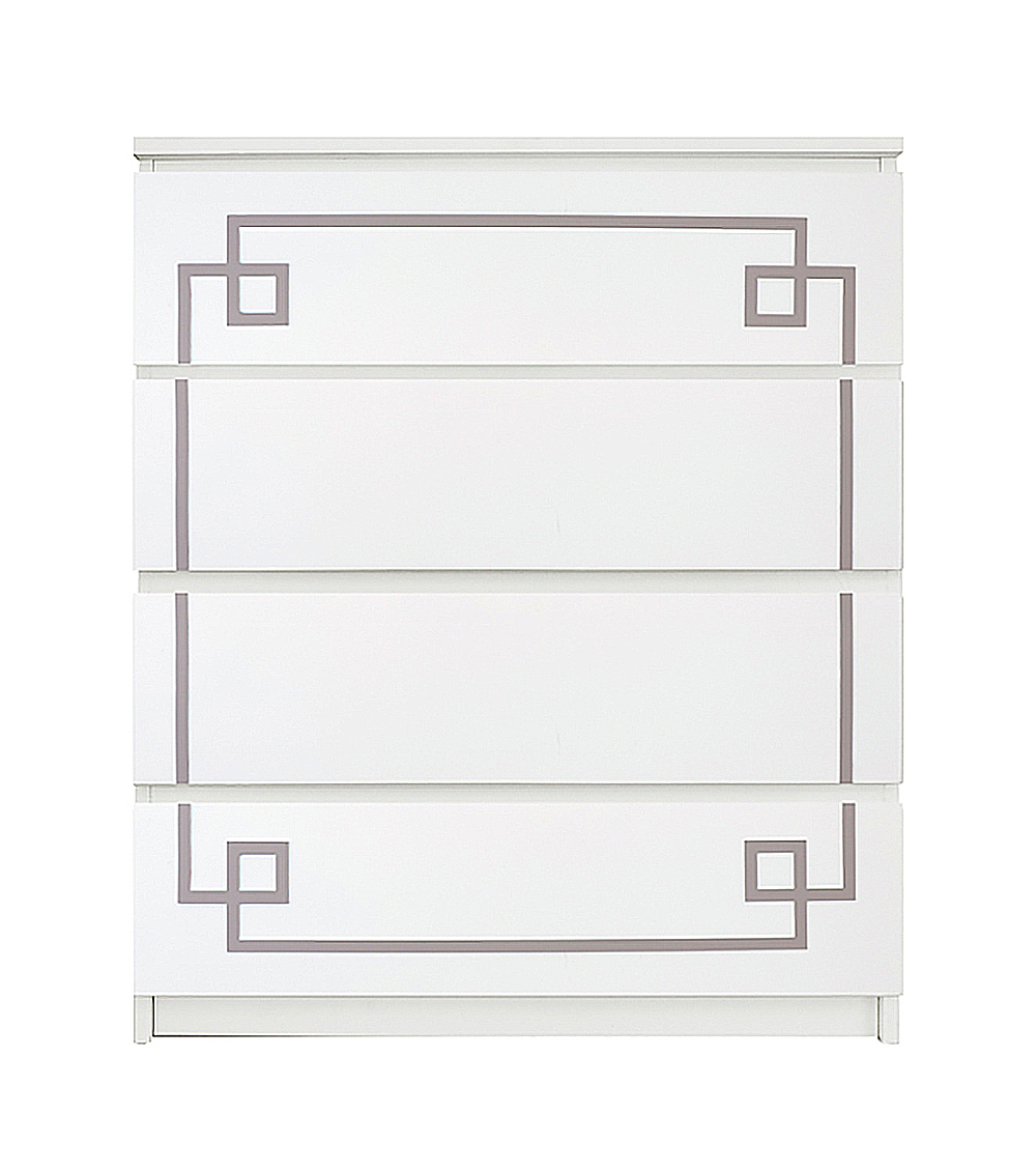 Kit For Ikea Malm 4 Drawer Chest