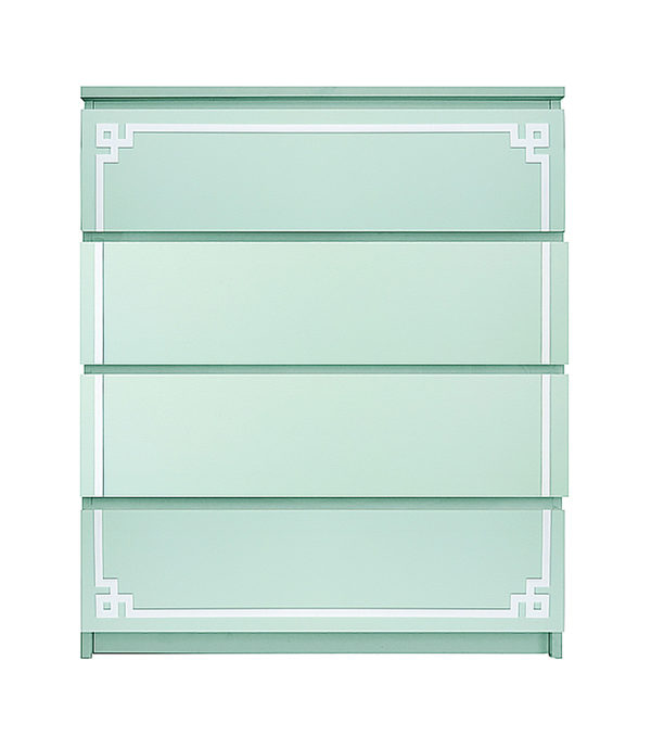 O'verlays Pippa Single Kit for Ikea Malm 4 Drawer Chest