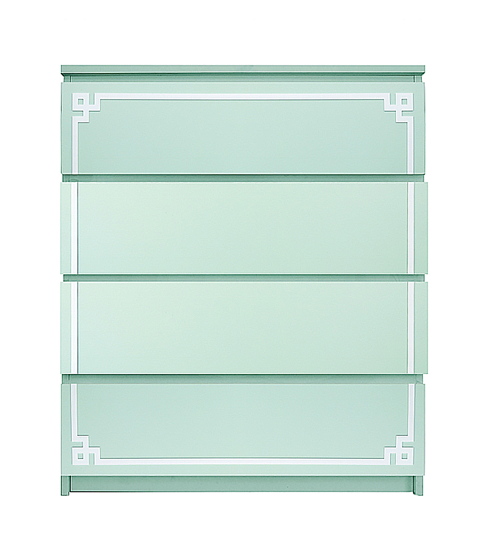 Beau Ou0027verlays Pippa Single Kit For Ikea Malm 4 Drawer Chest