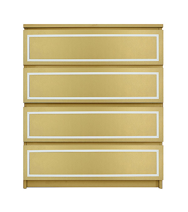 O'verlays Rex Kit for Ikea Malm 4 Drawer Chest