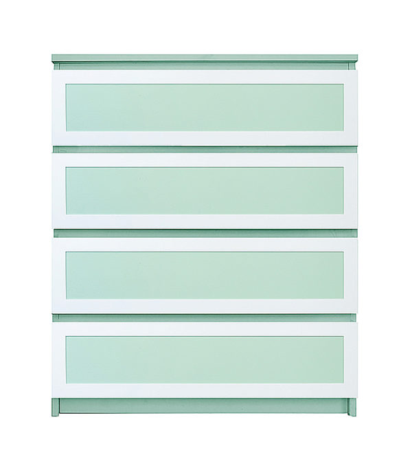 O'verlays Rex Thick Kit for Ikea Malm 4 Drawer Chest