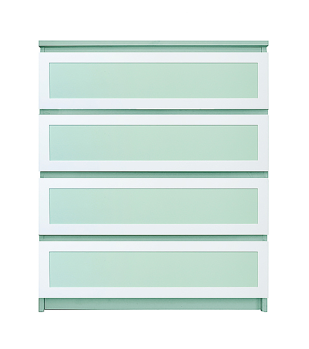 O Verlays Rex Thick Kit For Ikea Malm 4 Drawer Chest