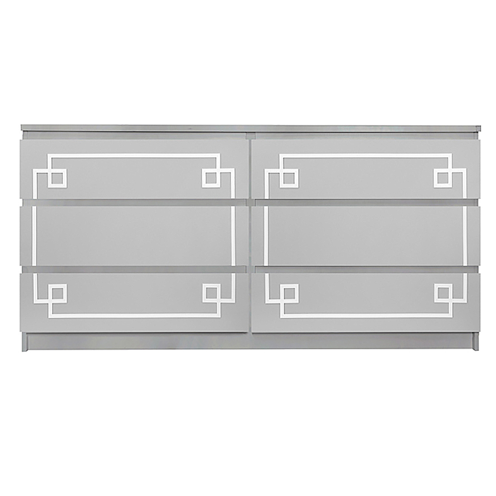 Ikea Malm 6 Drawer Long Dresser