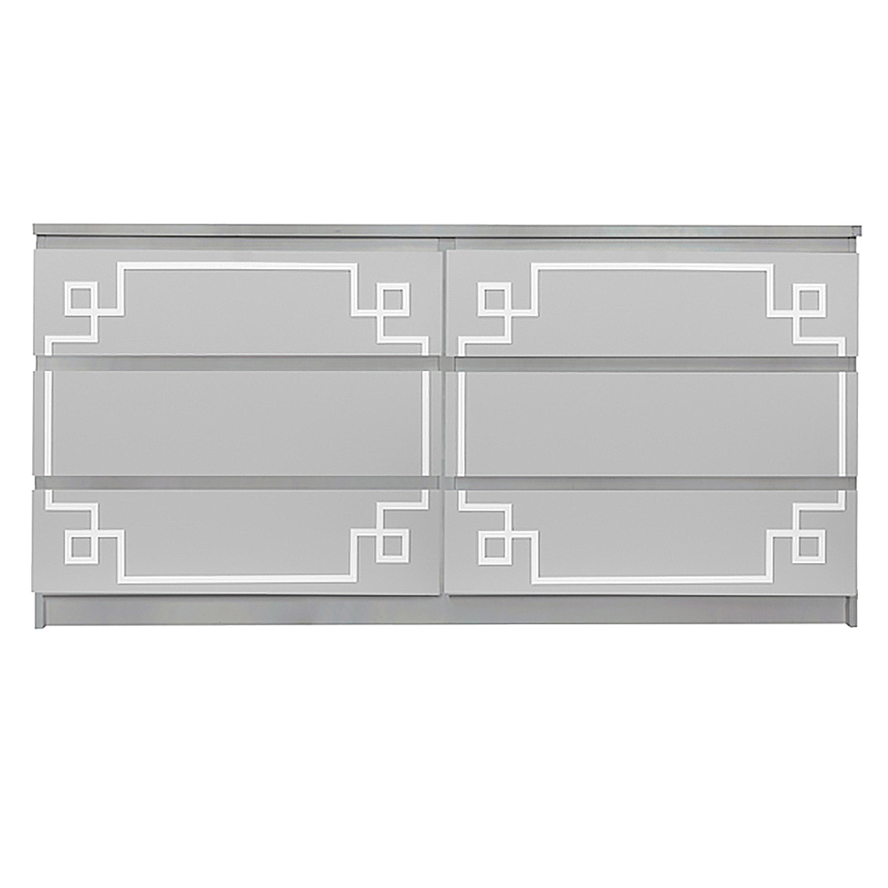 buy popular 3096e b6fac Pippa Malm #3 Kit for Ikea Malm 6 drawer long dresser