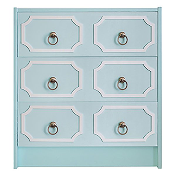 O'verlays Anne 6 Panel Kit for Ikea Rast 3 Drawer Chest